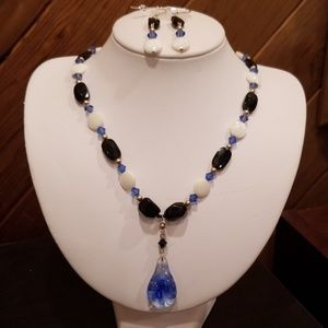 Jewelry - Handmade necklace and earrings